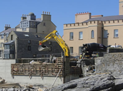 Repairs to Castletown Sea Wall